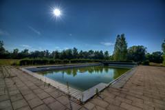 The sun and the pool (Jim Skovrider) Tags: 1116f28lens atx116prodx adobephotoshoplightroom d800 danmark denmark fullframe hdr highdynamicrange nikon nikond800 nikonfx nikonfxshowcase photomatixpro randers tokina urban ultrawide