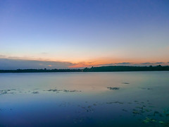 Sunset At Danau To'uban (Azizasrar Photoghraphy) Tags: amateurtobepro slowshutter travellight lake sunset touban