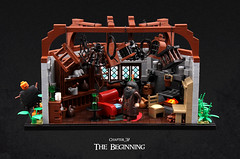 Harry Potter and the Goblet of Fire 30 (Xenomurphy) Tags: lego moc bricks harrypotter gobletoffire rowling muggle magic weasley hermione malfoy voldemort hogwarts hogsmeade slytherin hufflepuff gryffindor ravenclaw quidditch