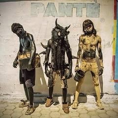 (danielhuiting) Tags: haiti lance de chorde tar kanival carnival voodoo rara jacmel porte au prince horns boys scary sunglasses ayiti pante