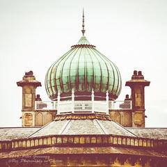The Onion Dome Of Sezincote House (Peter Greenway) Tags: dome onion sezincotehouse sezincote indian architecture greendome oriental gloucestershire statelyhome copper weathercopperdome copperdome weatherdome