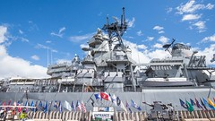 Big Mo (Oliver Leveritt) Tags: nikond610 afsnikkor1635mmf4gedvr oliverleverittphotography wideangle battleship bigmo ussmissouri pearlharbor hawaii oahu