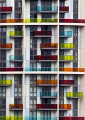 London_20160521_8547 (Joseph Pearson Images) Tags: london flats apartments balcony structure