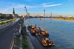 Dsseldorf (Haeppi) Tags: dsseldorf nrw germany deutschland rhein rhine flus river schiff boat