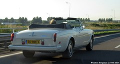 Rolls Royce Corniche II 1986 (XBXG) Tags: 56tnk4 rolls royce corniche ii 1986 rollsroyce rr cabriolet cabrio convertible roadster v8 a5 schiphol nederland holland netherlands paysbas vintage old classic british car auto automobile voiture ancienne anglaise uk engeland england