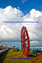 Wheel with clouds bridging the earth and sky (prem swaroop) Tags: clouds cumulus bridge megha sandesam picture postcard perfect travel visakhaptanamindia vuda park beach road rkbeach
