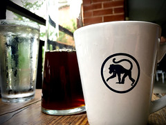 237/366 The Frothy Monkey, Franklin, TN (Bernie Anderson) Tags: ifttt 500px coffee cup food indoor white black drink glass franklin nashville tennessee frothy monkey