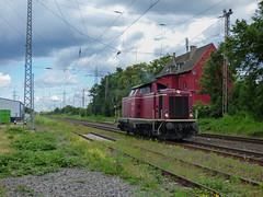 NeSa V100 1041 te Lintorf (treinfreak800) Tags: nesa v100 1041 lintorf llt losse loc dusseldorf rath