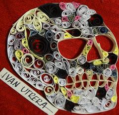 calavera de filigrana (ivanutrera) Tags: calavera skull filigrana filigree filigranadepapel paper papel calaca craneo