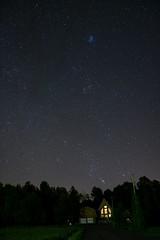 Nuit blanche toil (lildevilz) Tags: nikon nuit orion aurore voie lacte
