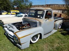 1953 Ford F100 (bballchico) Tags: 1953 ford f100 pickuptruck scallops primer bobbyv loozescrewscc billetproof billetproofantioch carshow