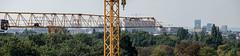 D6C_4652-Pano.jpg (PhantomFFR) Tags: viertelzwei baustelle 1020 panorama openhousewien ausblick kran viennatwintower wienerberg flakturm k6 leitturm cityscape vienna kräne skyline ohw16 wien