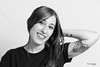Noemie (Troylo@stur) Tags: alba peluqueria tatu tatuaje blancoynegro bw blackwhite byn chica sonrisa girl