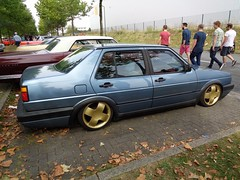 VW Jetta 2 (911gt2rs) Tags: treffen meeting show event tuning tief low stance airride gl votex felgen wheels blau blue mk2 youngtimer dub