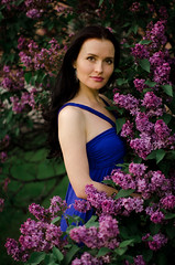 DSC_4857 (Altvod) Tags: portrait girl    nature  botanicalgarden flowers   lilac people
