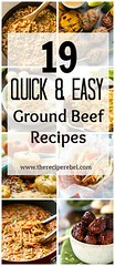 19 Quick and Easy Gr (alaridesign) Tags: 19 quick easy ground beef recipes