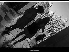 arriving to San Marco square (magicoda) Tags: italia italy magicoda foto fotografia venezia venice veneto biancoenero blackandwhite bw bn persone people blackwhitephotos maggidavide davidemaggi voyeur white curioso see vedere candid upskirt streetphotografy street turiste turista tourist turisti turists donna woman vpl seethru perizoma thong panty panties nero black wife shadow piedi feet barefoot sandal water sea controluce backlight sole sun gonna vento wind skirt ombra ombre patterns coppia couple 2016 fuji fujifilm x100 x100t sanmarco