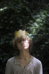 Innocence (George Arnaldo) Tags: georgearnaldo georgearnaldophotography crown fantasy fineart fairytale forest 365 365project dailyphoto magic sonyalpha sony portrait boy guy 50mm darkfantasy conceptual creativephotography conceptualimage cinematic model male nature dark