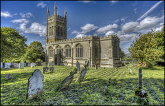 Whiston Church 2 (Darwinsgift) Tags: whiston church northamptonshire grade 1 listed voigtlander 20mm f35 color skopar nikon d810 graveyard graves architecture hdr