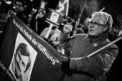 . (Thorsten Strasas) Tags: berlin kreuzberg de demo deutschland march memorial nacht victim rally protest streetphotography demonstration comrade murderer reportage communists antifa antifascism kommunisten dkp antifaschistischeaktion schwarzweis antifaschismus genosse strasenfotografie deutschekommunistischepartei turkishcommunistparty celalettinkesim turkishnationalists farrightextremists