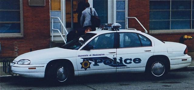 seattle chevrolet vintage police 1998 patrol lumina frontwheeldrive campuspolice universityofwashingtonpolicedepartment