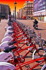 Taking a bicing (Superpepelu) Tags: barcelona streetshot mygearandme rememberthatmomentlevel1 creativephotocafe