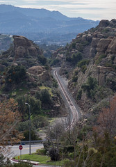 Santa Susana Pass rail (0304) (DB's travels) Tags: sanfrancisco california railroad amtrak tempcrr