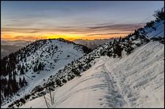 You've come a long way (BM-Licht) Tags: schnee winter mountain snow mountains berg germany bayern deutschland bavaria nikon berge walchensee 2012 oberland kochelsee kochel herzogstand herzogstandhaus d7000 martinskopf