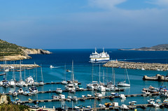 The Ferry Arriving At Mgarr On Gozo Island, Malta (Butch Osborne) Tags: water ferry port boats island bay harbor ship malta gozo mgarr gozoisland yaghts malteseislands malta2012