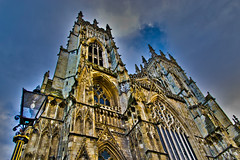 York Minster Cathedral. (Craig Greenwood) Tags: york uk england holiday english heritage history archaeology architecture digital nikon raw roman unitedkingdom britain vibrant yorkshire victorian royal medieval tudor graves historic norman haunted altar clear holy crisp historical british priest colourful dslr yorkminster viking oldtown enhanced tombs hdr henryviii yorkcity northyorkshire saxon conquest richardiii archbishop riverouse yorkcastle dickturpin historicalcity historicalplace englishcivilwar yorkuk historictown historicaltown burials highwayman yorkengland margaretclitheroe houseofgod housesofworship yorkstreets yorkcitycentre richard3rd richardturpin d3100 jvorik me2youphotographylevel1 walterdegrey