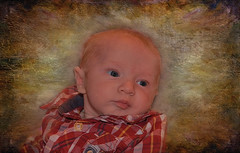 Little  2  Month  Old (jta1950) Tags: boy portrait people baby painterly cute texture kids children person kid eyes infant child adorable enfant garcon 2monthold lenabemanna