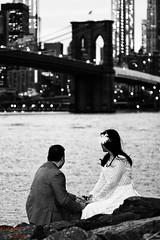 LOVE (Asaf Keles) Tags: nyc newyorkcity bridge bw ny newyork love brooklyn canon bride blackwhite bokeh brooklynbridge tamron boke broom brooklynbridgepark brooklynbridgenight canoneos50d nycinbw tamron70200f28 asafkeles