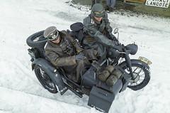 BMW R75 Wehrmacht sidecar (The Adventurous Eye) Tags: history military wwii r bmw ww2 konrad r75 75 operation reenactment reenactors sidecar wehrmacht kapsa i operace ořechov konrád 2612013 budapešťská budapešťskákapsa budapestpocket operacekonrad