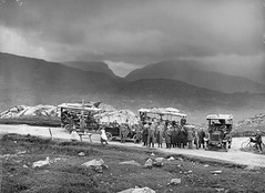 Moll's Gap, Kerry (National Library of Ireland on The Commons) Tags: ireland bicycle pipes kerry smoking luggage molly killarney waterville driver cigars signpost cigarettes baggage 20thcentury tobacco tarpaulin coaches munster sneem refreshments cahirciveen glassnegative windygap mollsgap touringcars parknasilla portmanteau robertfrench williamlawrence nationallibraryofireland charabancs lawrencecollection mollkissane starterhandle limerickbybeachcomber commercialcarsluton ln9942