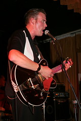 "Jim Barker of The Borderlines at the Boogaloo Promotions Rock 'n' Roll Weekend, Lakeside, 2006 • <a style=""font-size:0.8em;"" href=""http://www.flickr.com/photos/86643986@N07/8453354449/"" target=""_blank"">View on Flickr</a>"