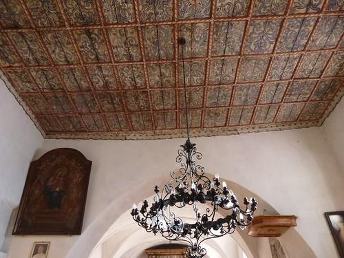 Drewniany strop kościoła św. Anny w Kłaczynie