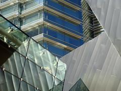 Post-modernist architectural mix City Center Las Vegas