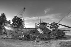 La Norma (Caledi) Tags: ocean boat mar barco ship playa hdr abandonado barcoviejo caledi caletacordoba