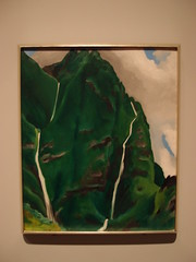 Georgia O'keeffe, Waterfall - Iao Valley, 1939 (Eric Broder Van Dyke) Tags: waterfall spring oahu 1939 iaovalley georgiaokeeffe 2013