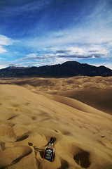 Sand Dunes NightLife (Zach Dischner) Tags: park kite night canon stars jack eos flying cool sand colorado dunes sandy dune footprints national midnight 7d co daniels jd moffat