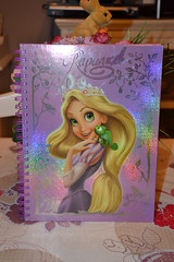 Rapunzel and Pascal notebook (MissLilieDolly) Tags: notebook mother disney collection pascal dolly miss rider et rapunzel lilie maximus flynn mre cahier eugne fitzherbert gothel raiponce missliliedolly