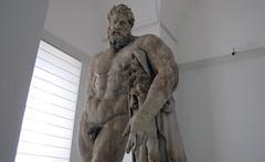 Lysippos, Farnese Hercules, looking up