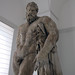 Lysippos, Farnese Hercules, looking up