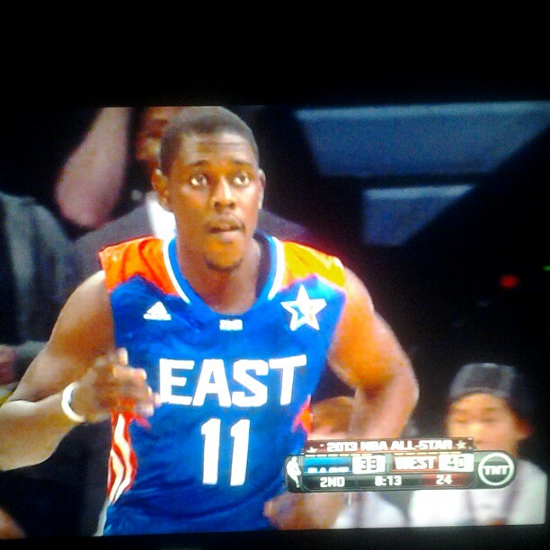 My NBA Sixers brother Jrue Holiday!!  #Sixers #AllStar