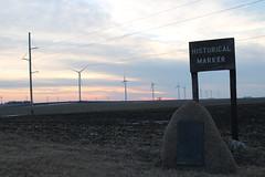 CGW021713GLAD1 (eslade4) Tags: abandoned windmills row steam rockisland crip rightofway cgw gladbrook excgw chicagogreatwestern excnw gladbrookwreck