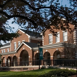The Robert C. and Dorothy M. Peoples Library located at the New Castle campus of Wilmington University