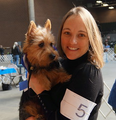 Dog show with monica