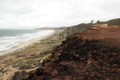 (seor sideburns) Tags: ocean road red sea brazil cliff praia beach southamerica brasil canon mar rocks wave atlantic vermelho dirt tropical pipa rocas ola oceano nordeste rn sudamerica atlantico riograndedonorte onda americadosul t2i