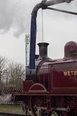Met. 1, Quainton Road, Bucks (IFM Photographic) Tags: canon tube railway trains londonunderground 70300mm tamron met1 lt steamtrain londontransport tfl lul londontransportmuseum greatcentralrailway transportforlondon gcr eclass tamron70300mm 600d quaintonroad buckinghamshirerailwaycentre metropolitanrailway tamron70300mmf456dildmacro 044t ltmuseum bucksrailwaycentre quaintonroadstation img5762a metlocono1 londontube150 londonunderground150 metropolitanrailwayeclass044t