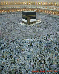 DSC02142_twister_28cmx35cm (yaz1434) Tags: sony 16mm haji masjid umrah makkah kabah slowspeed alharam baitullah thawaf twistereffect nex5